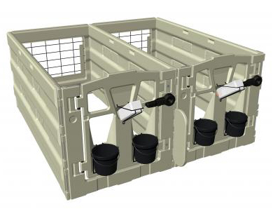 Calf-Tel Calf Hutches | Hartung Sales and Service